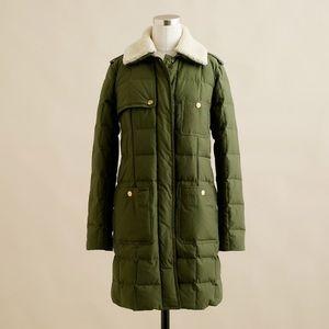 J. Crew Snowbound Puffer Coat- rare
